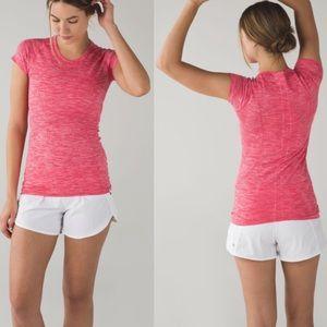 Lululemon Swiftly Tech Pink Short Sleeve T-Shirt 6
